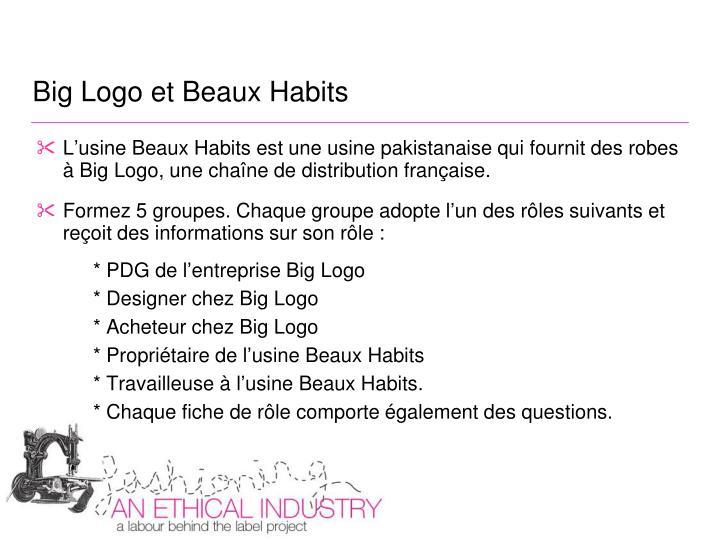 Big Logo et Beaux Habits