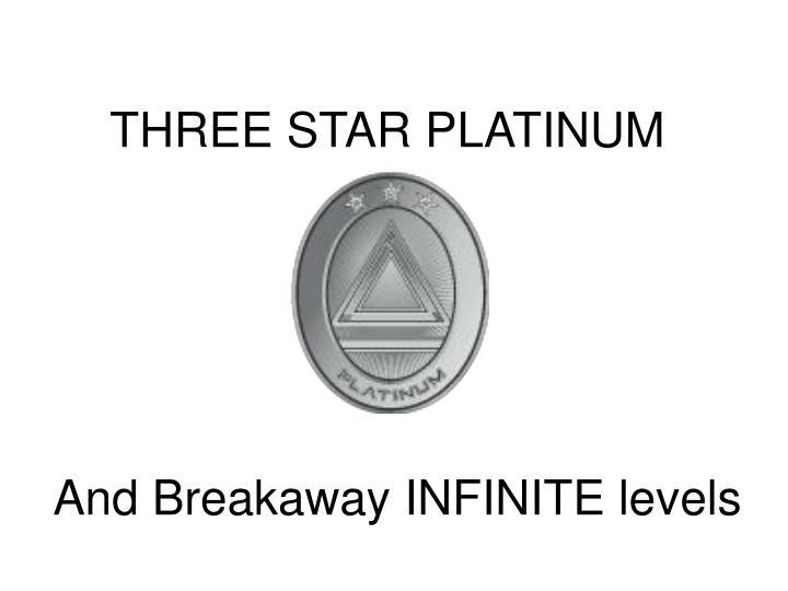 THREE STAR PLATINUM