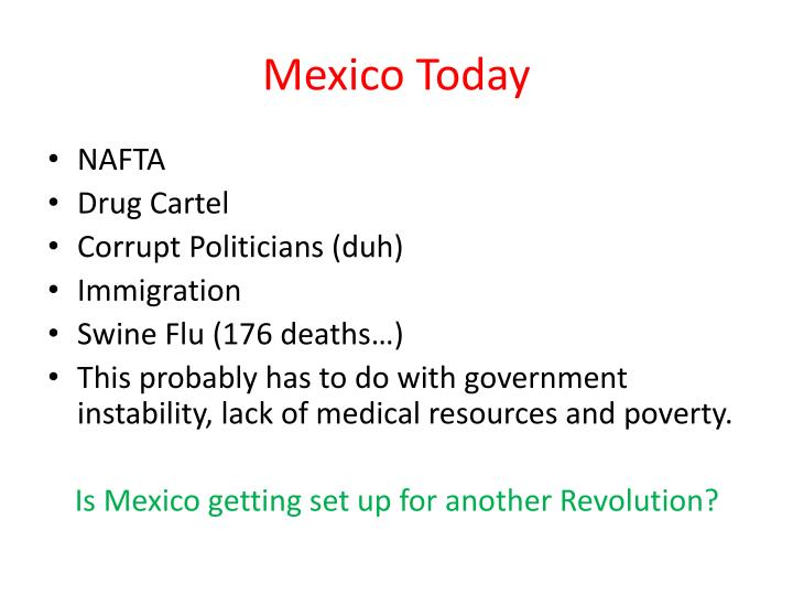 Mexico Today