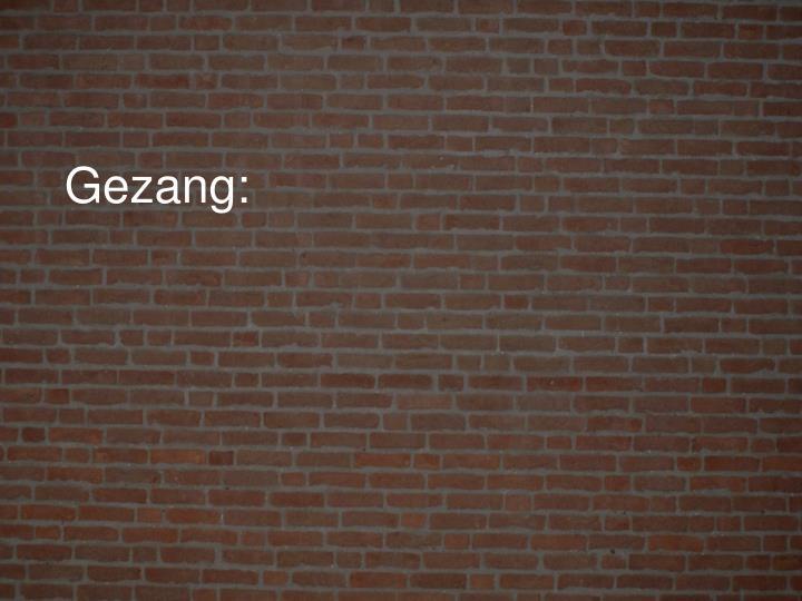 Gezang:
