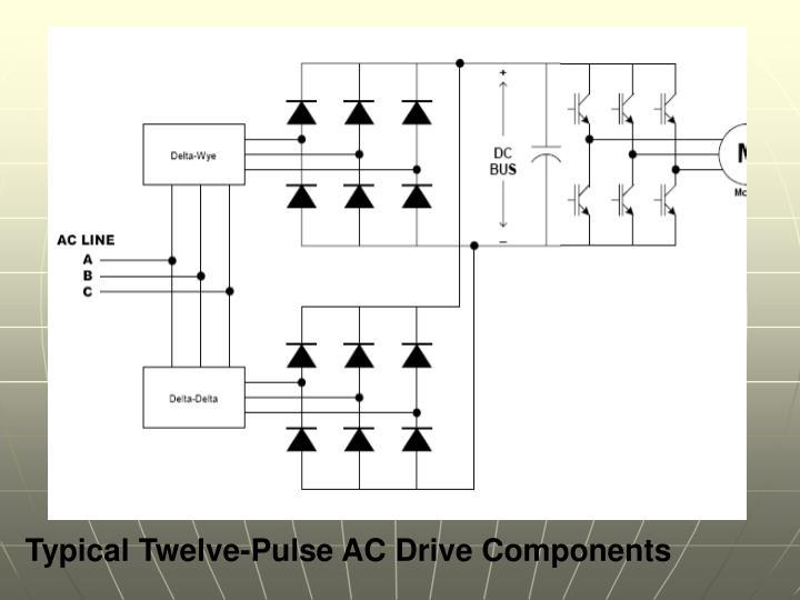 Typical Twelve-Pulse AC Drive Components
