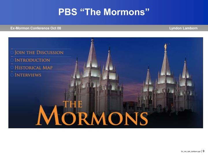 "PBS ""The Mormons"""