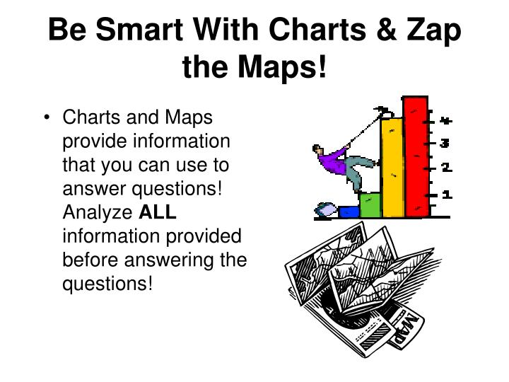 Be Smart With Charts & Zap the Maps!