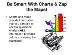 be smart with charts zap the maps