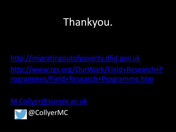 Thankyou