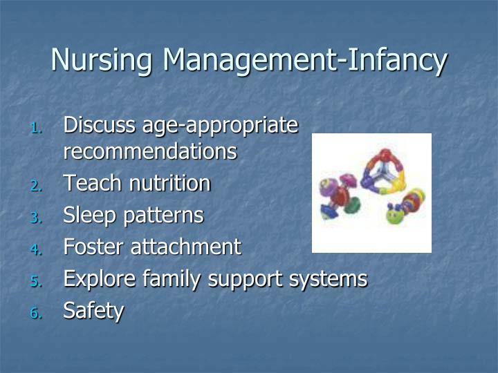 Nursing Management-Infancy