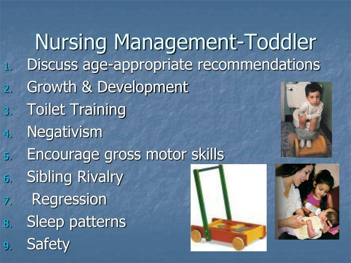 Nursing Management-Toddler