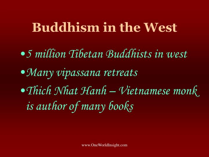 Buddhism in the West