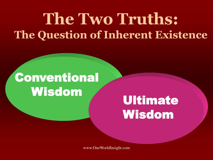 The Two Truths: