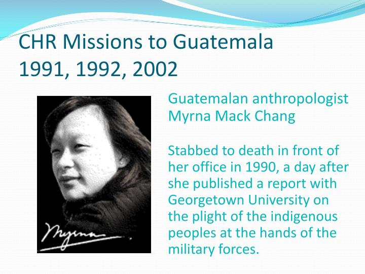 CHR Missions to Guatemala