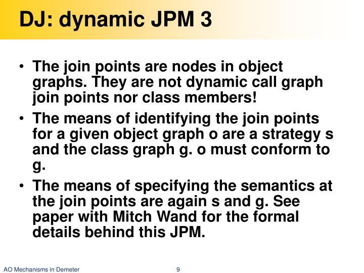 DJ: dynamic JPM 3