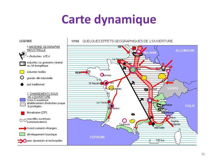 Carte dynamique