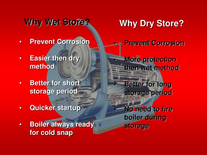 Why Wet Store