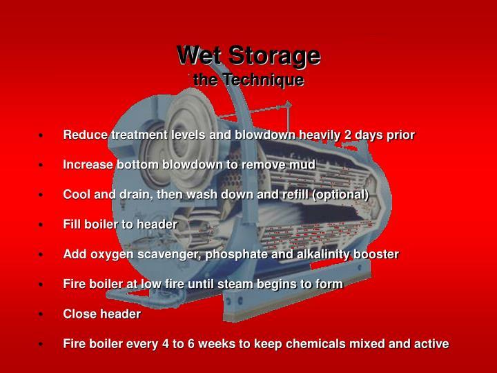Wet Storage