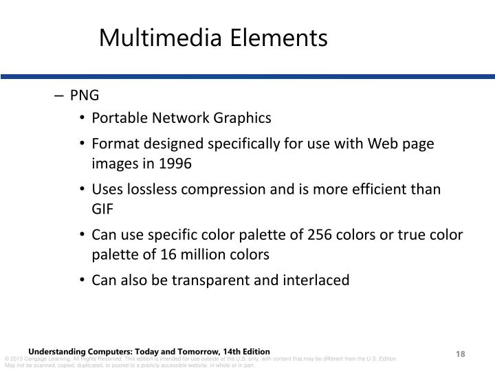 Multimedia Elements