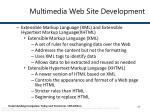 multimedia web site development6