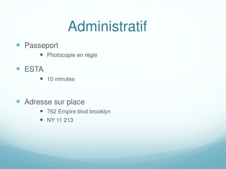 Administratif