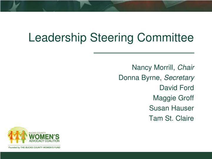 Leadership Steering Committee