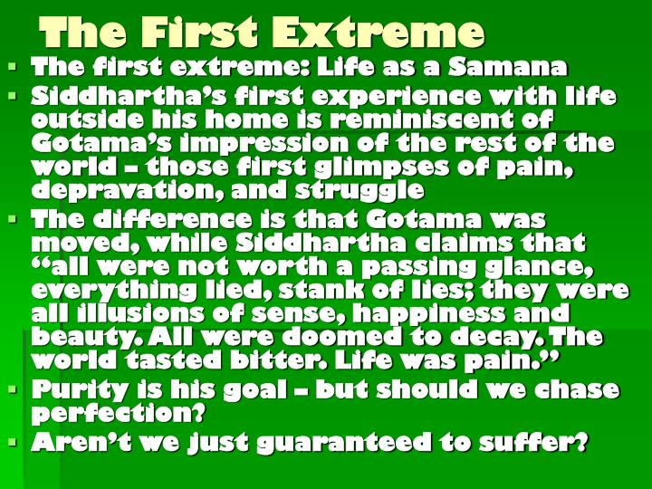 The first extreme