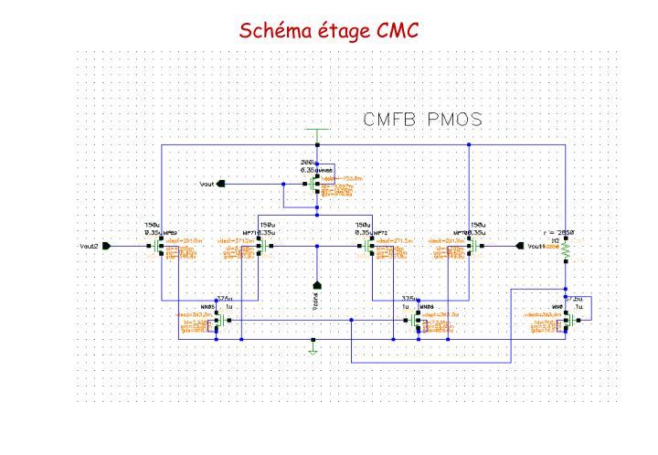 Schéma étage CMC