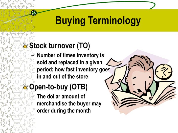 Buying Terminology