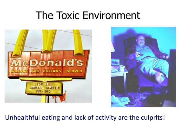 The Toxic Environment