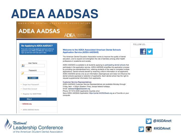 ADEA AADSAS