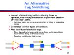 an alternative tag switching