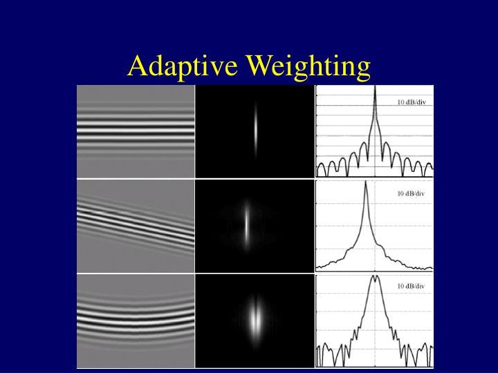 Adaptive Weighting