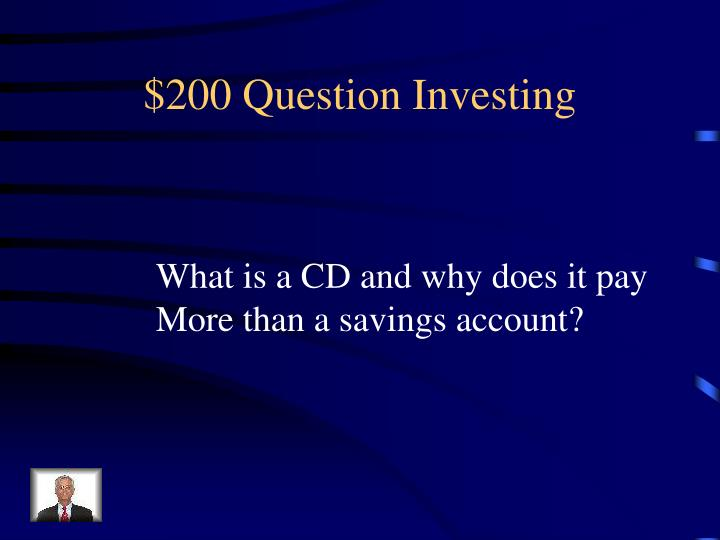$200 Question Investing