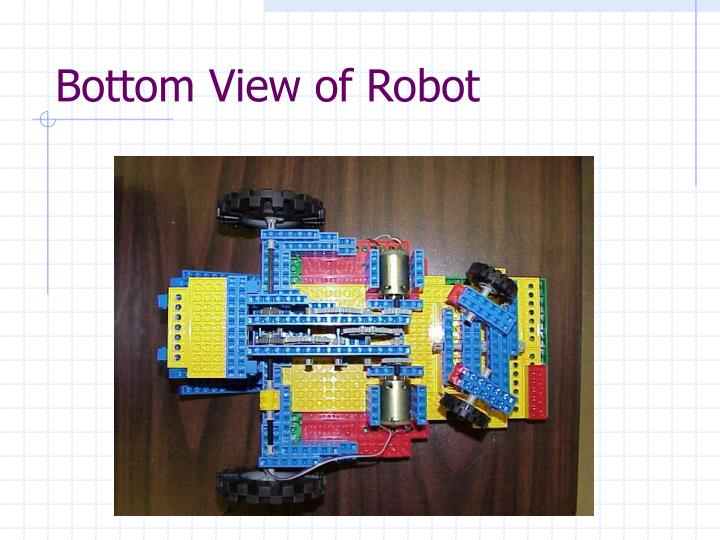 Bottom View of Robot