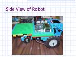 side view of robot