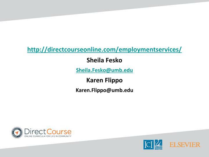 http://directcourseonline.com/employmentservices/