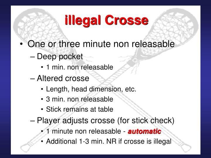 illegal Crosse