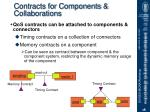 contracts for components collaborations
