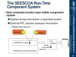 the seescoa run time component system1