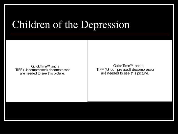 Children of the Depression