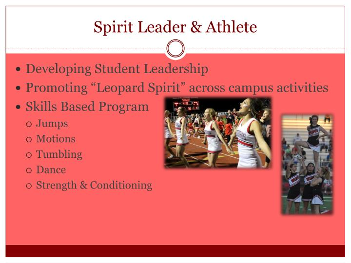 Spirit Leader & Athlete
