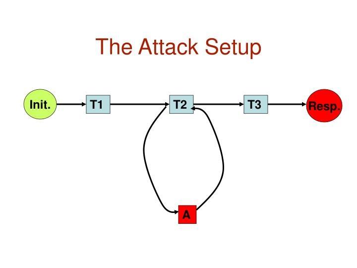 The Attack Setup