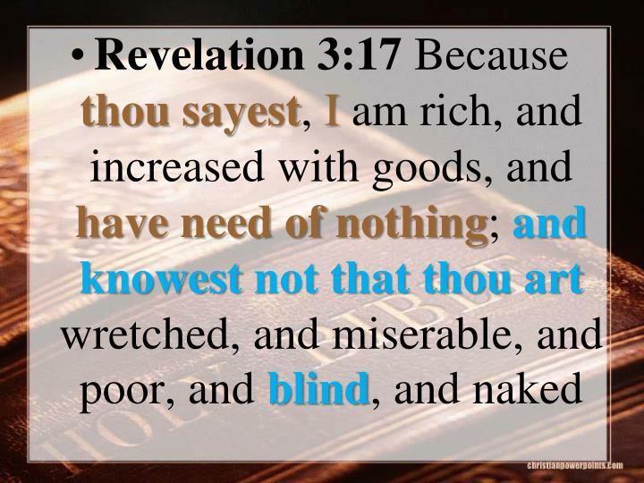 Revelation 3:17