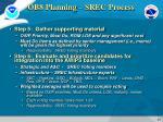 ob8 planning srec process1