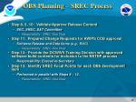 ob8 planning srec process3