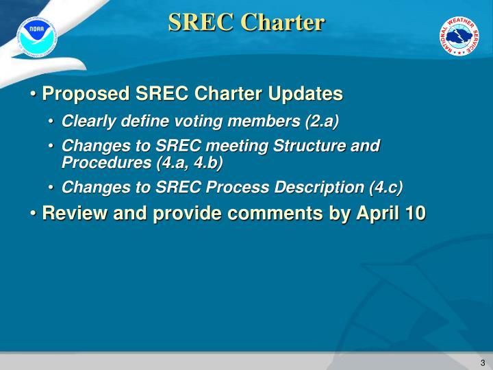 SREC Charter