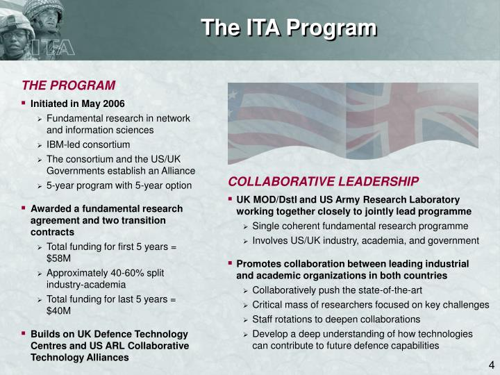 The ITA Program