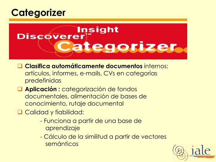 Categorizer