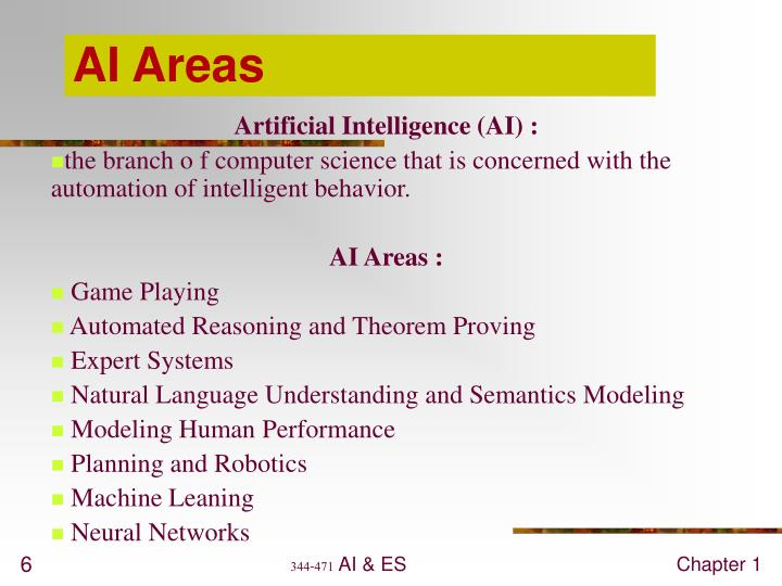 AI Areas