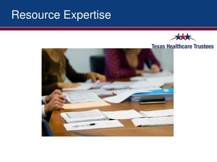 Resource Expertise
