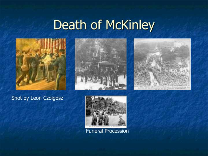 Death of McKinley