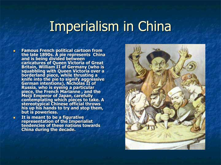 Imperialism in China