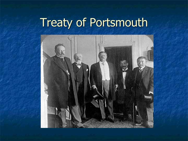 Treaty of Portsmouth